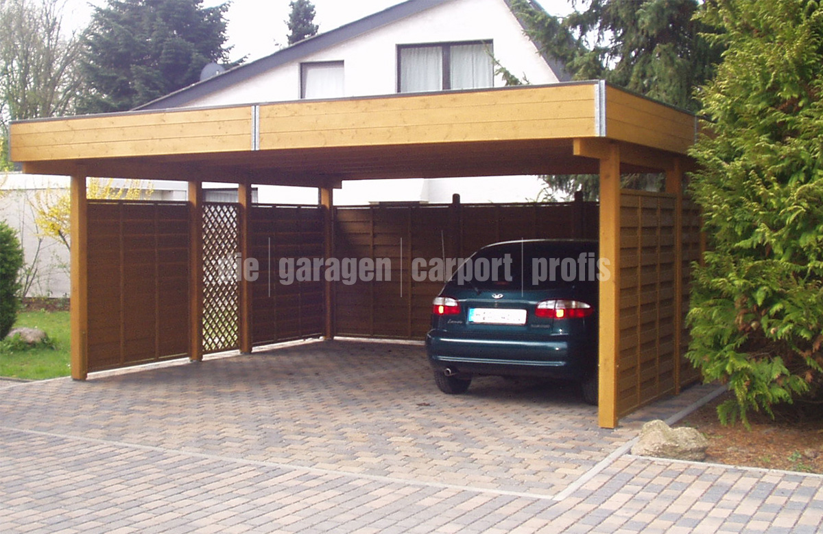 die garagen carport profis holzcarport classic line. Black Bedroom Furniture Sets. Home Design Ideas