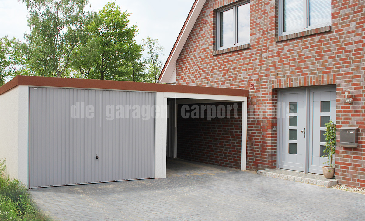 garage mit carport cool garage kombiniert mit carport. Black Bedroom Furniture Sets. Home Design Ideas