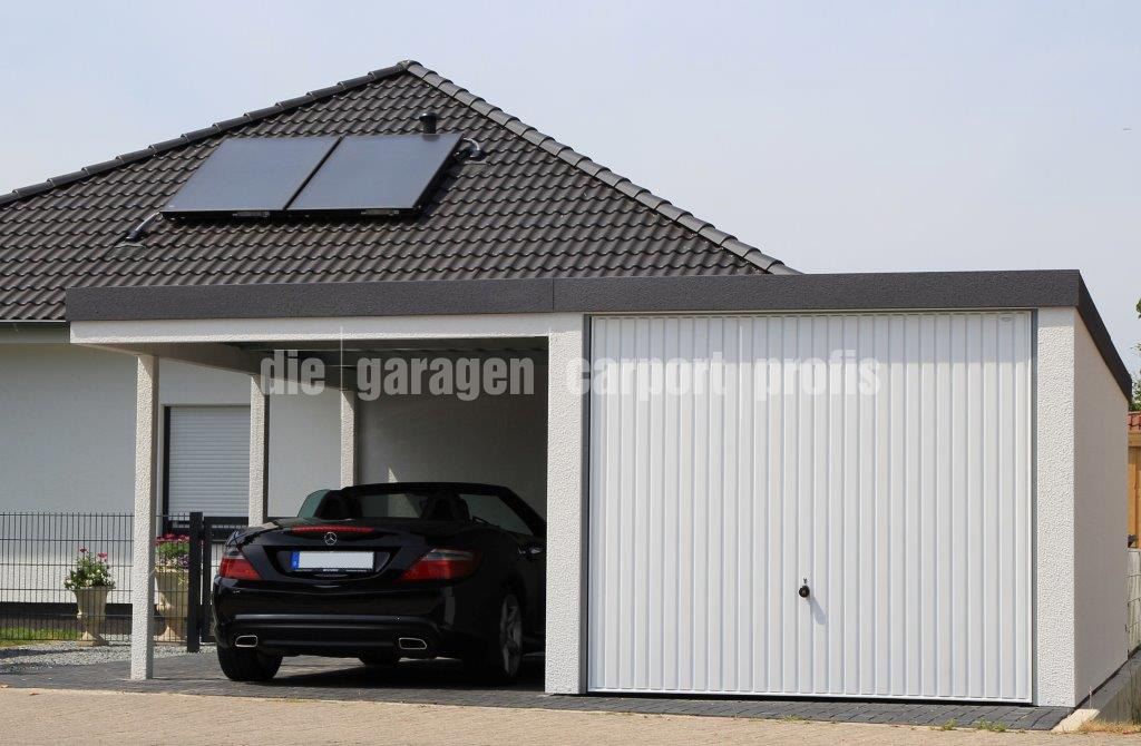 fertiggaragen mit carport fertiggaragen aus sachsen. Black Bedroom Furniture Sets. Home Design Ideas