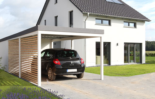die garagen carport profis stahlcarport. Black Bedroom Furniture Sets. Home Design Ideas